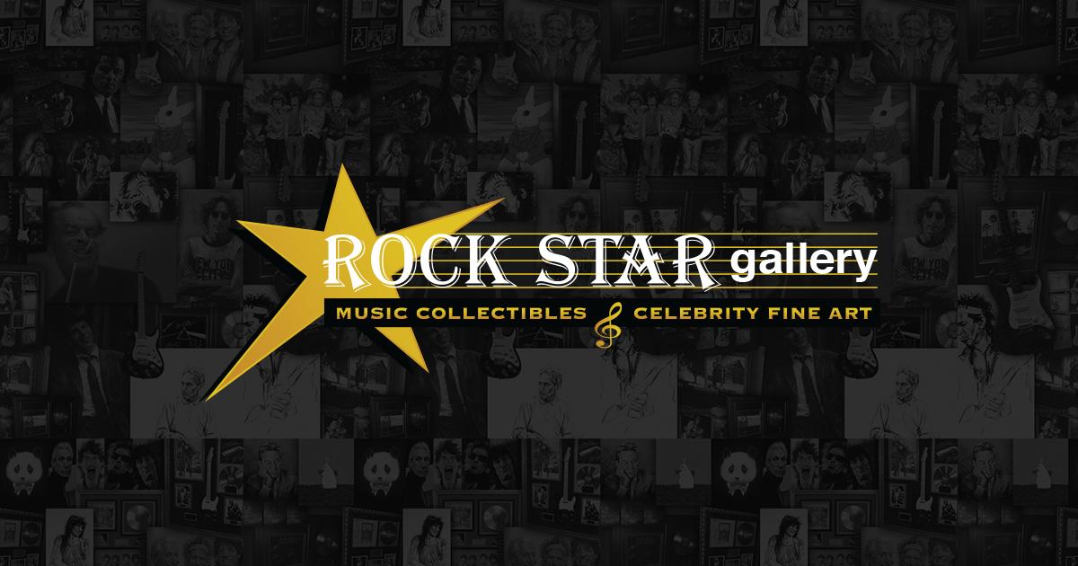 welcome rock star gallery music memorabilia rock rollrock star gallery. Black Bedroom Furniture Sets. Home Design Ideas