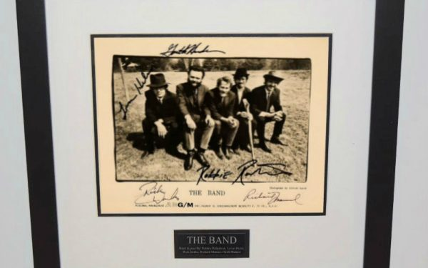 The Band Signed 8×10 Promotional Photograph