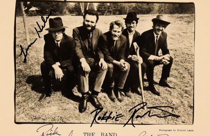 The Band Signed 8×10 Photograph