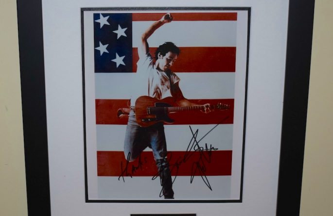 #11 Bruce Springsteen Signed 8×10 Photograph