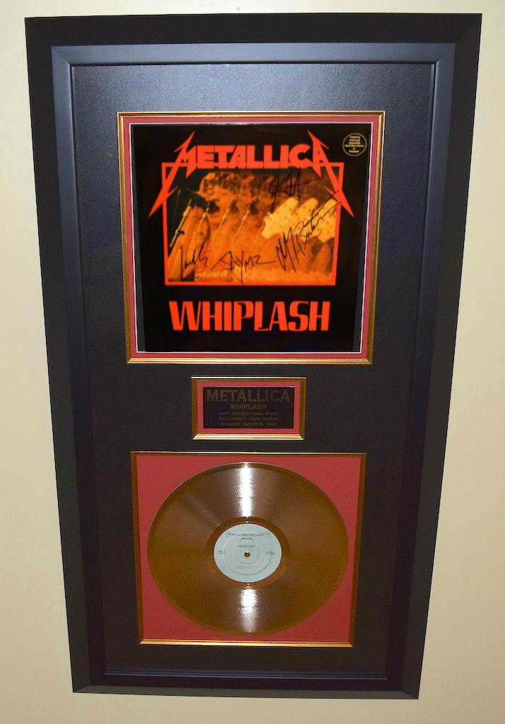 Metallica Whiplash, Kirk Hammett, Lars Ulrich, James ...