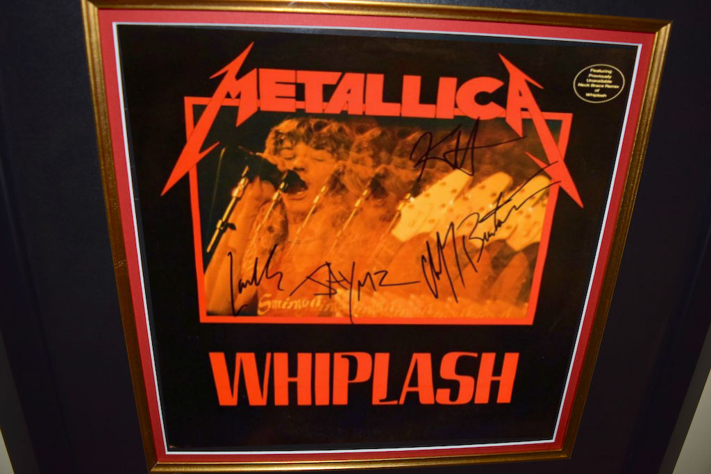 Metallica Whiplash, Kirk Hammett, Lars Ulrich, James