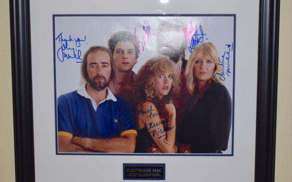 #5-Fleetwood Mac Signed 11×14 Photograph