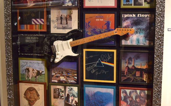 Pink Floyd Guitar Display