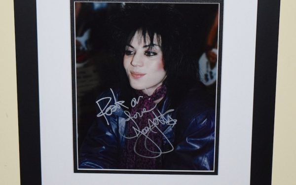 Joan Jett Signed 8×10 Photograph