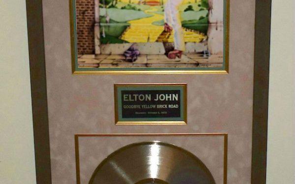 #2 Elton John – Goodbye Yellow Brick Road