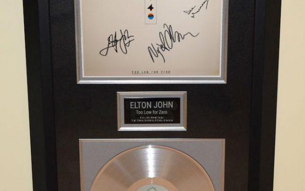 Elton John – Too Low for Zero