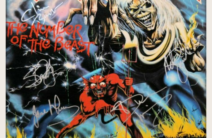 Iron Maiden – The Number of The Beast
