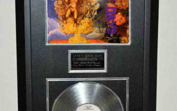 "Jane's Addiction – Three Days 12"" Single Release"