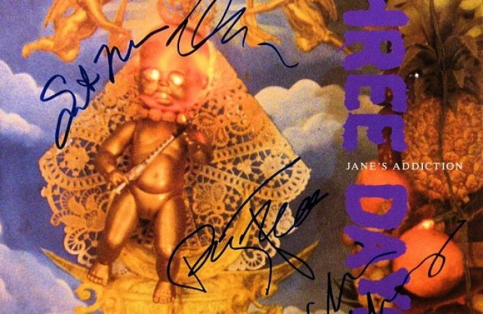 "Jane's Addiction – Three Days 12"" Single Release"