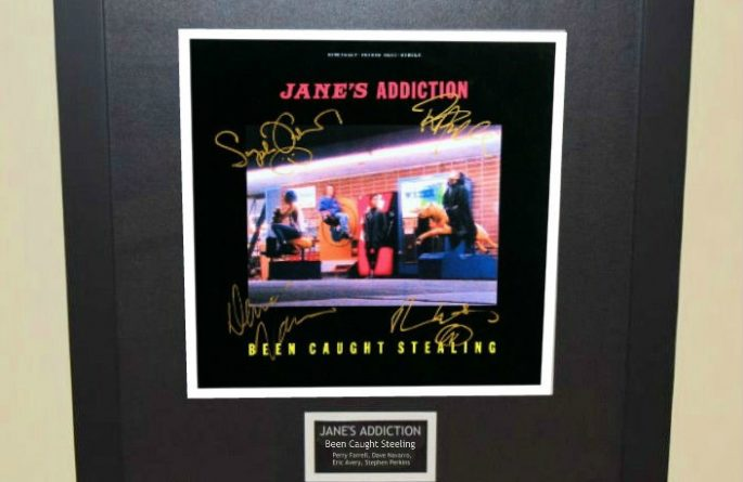"""Jane's Addiction – Been Caught Stealing 12"""" Single Release"""