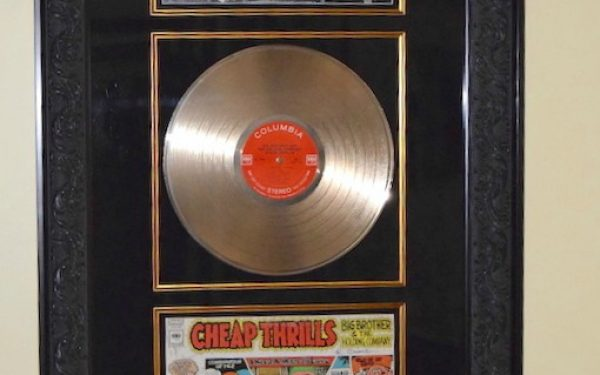 Janis Joplin – Cheap Thrills (Front & Back Signed Covers)