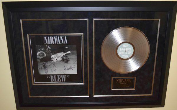 "Nirvana – ""BLEW"""