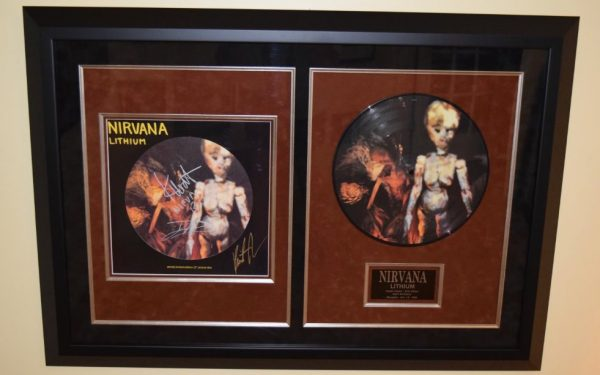 Nirvana – Lithium Picture Disc Extended Play Vinyl