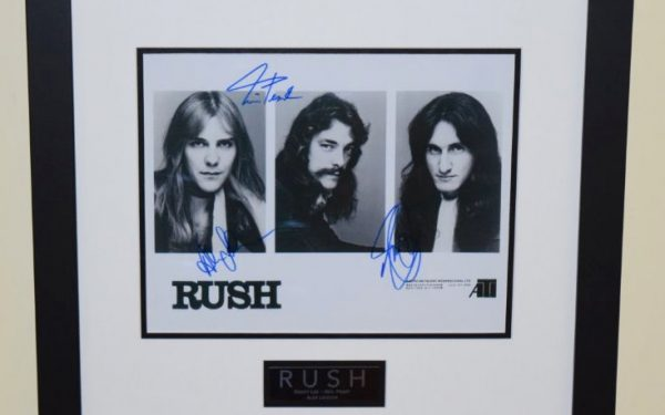 #2-Rush Signed 8×10 Photograph