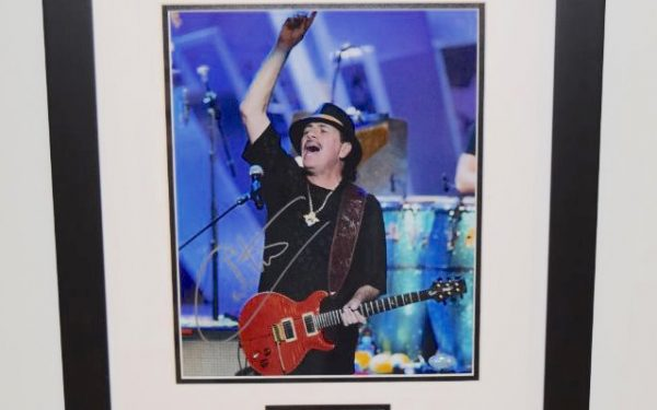 #2-Santana Signed 8x10Photograph