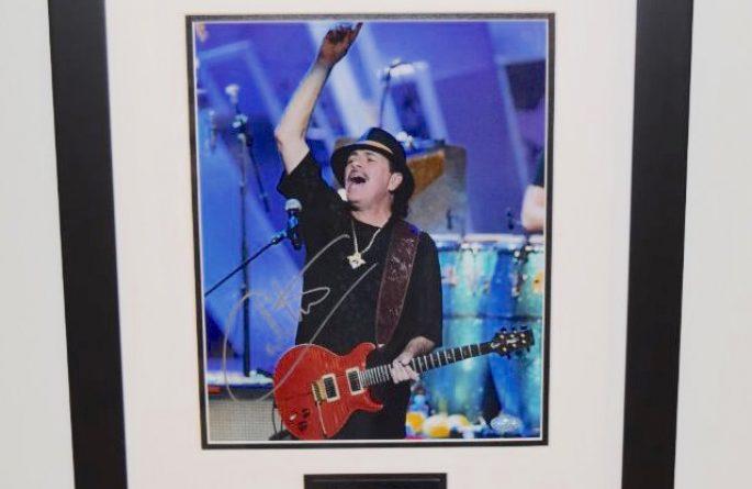 #2-Santana Signed 8×10 Photograph