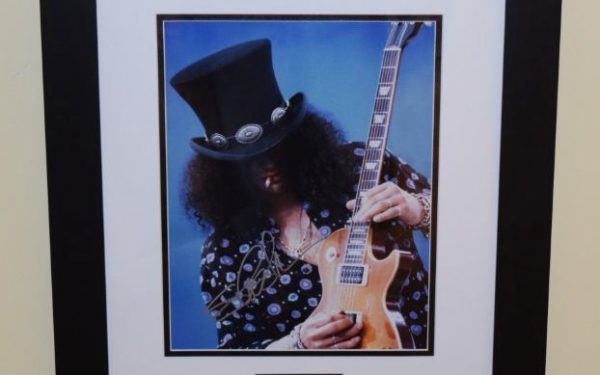 #3-Slash Signed 8×10 Photograph