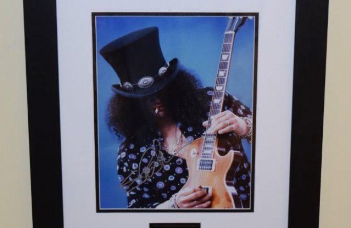 #3-Slash Signed 8×10 Photograph