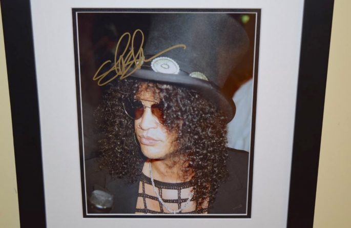 #2-Slash Signed 8×10 Photograph