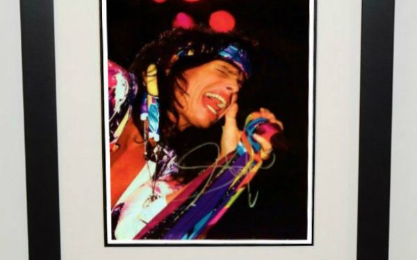#1-Aerosmith – Steven Tyler Signed 8×10 Photograph