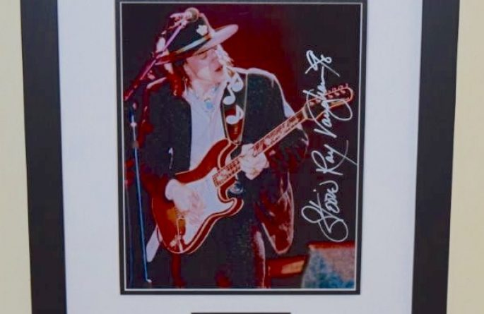 #2-Stevie Ray Vaughan Signed 8×10 Photograph