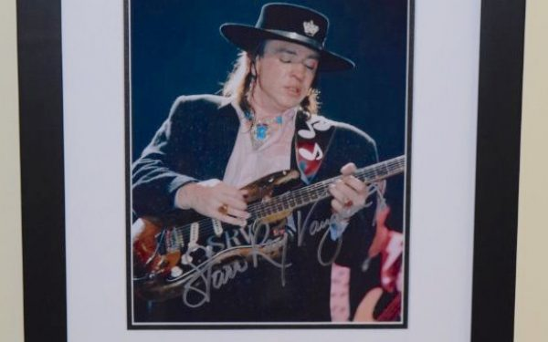 #1-Stevie Ray Vaughan Signed 8×10 Photograph