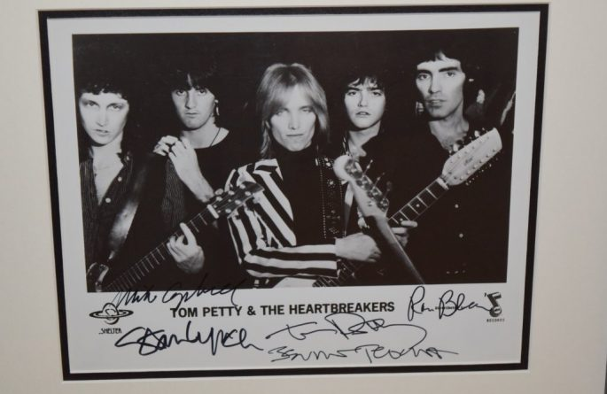 #3-Tom Petty And The Heartbreakers Signed 8×10 Photograph