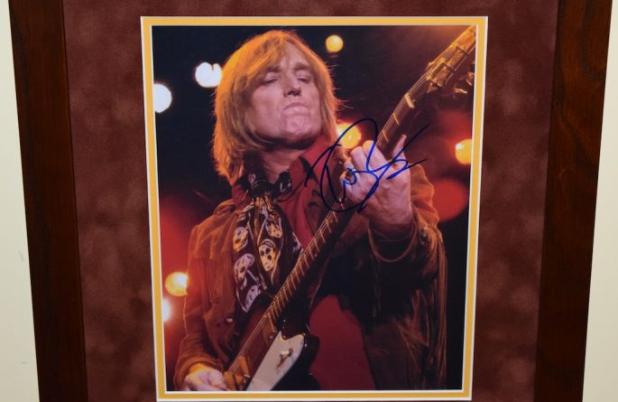 #2-Tom Petty Signed 8×10 photograph
