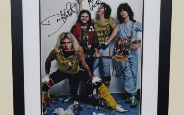 #2-Van Halen Signed promotional 11×14 Photograph