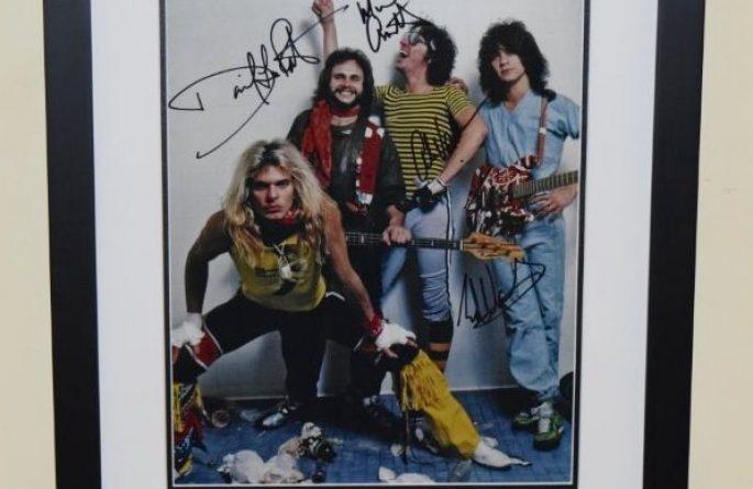 #2-Van Halen Signed 11×14 Photograph