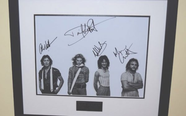 #1-Van Halen Signed 11×14 Promotional Photograph