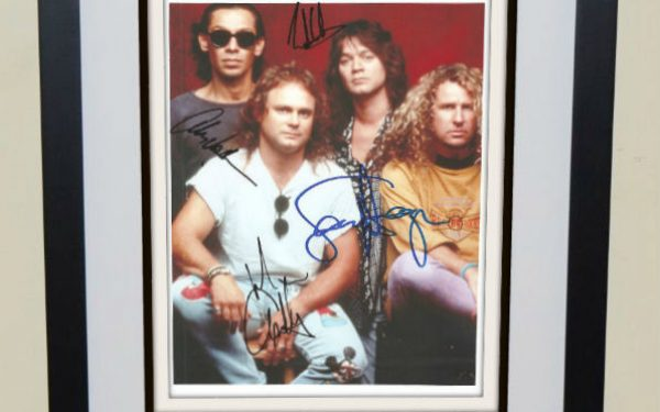 #3-Van Halen Signed 8×10 Photograph
