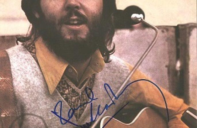 #5-Paul McCartney Signed 8×10 Photograph