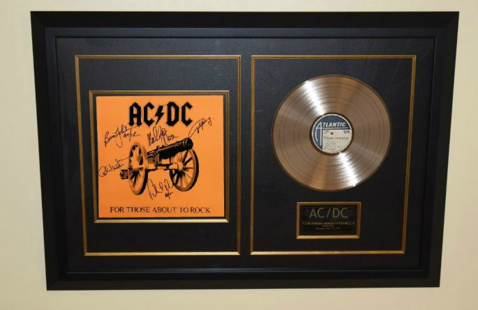 AC/DC – For Those About To Rock