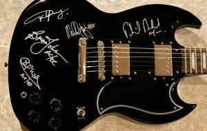 AC/DC Signed Epiphone SG Pro Guitar