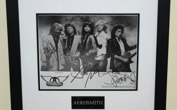 #2-Aerosmith Signed 8×10 Photograph