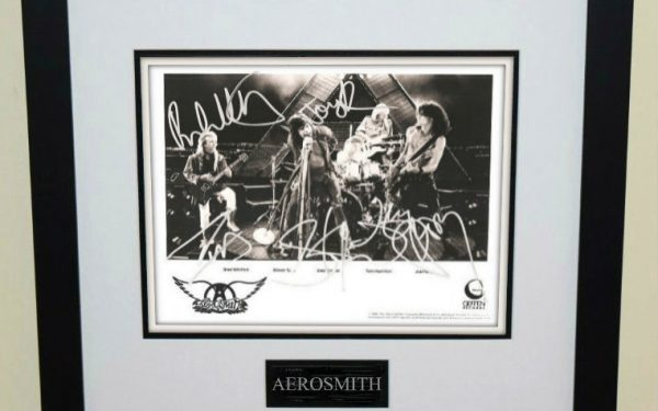 #6-Aerosmith Signed 8×10 Photograph
