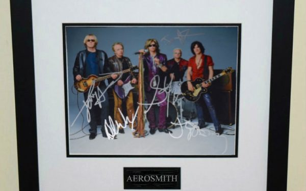 #3-Aerosmith Signed 8×10 Photograph