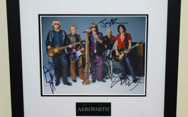 #4-Aerosmith Signed 8×10 Photograph