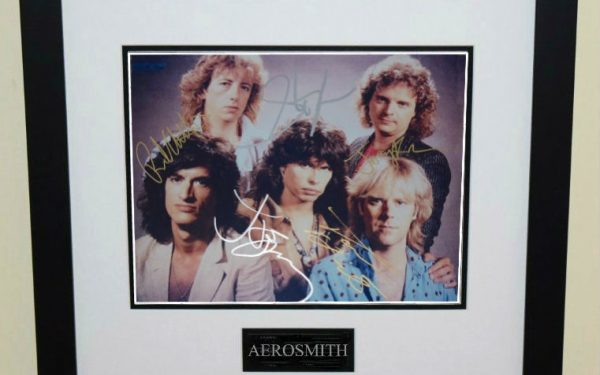 #5-Aerosmith Signed 8×10 Photograph