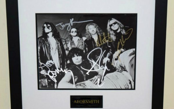 #1-Aerosmith Signed 8×10 Photograph