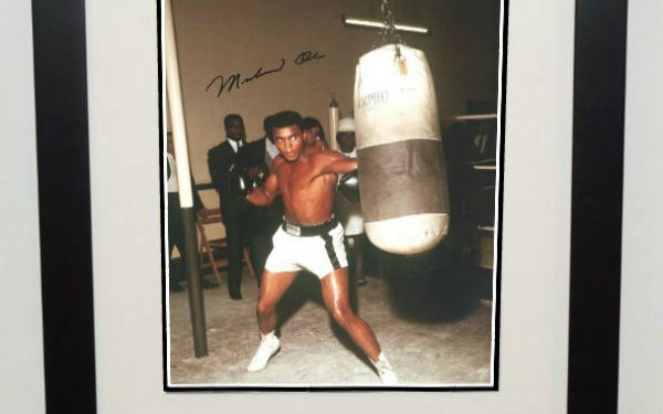 #3-Muhammad Ali Signed 8×10 Photograph