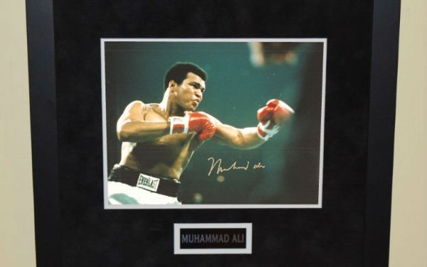 #2-Muhammad Ali Signed 8×10 Photograph