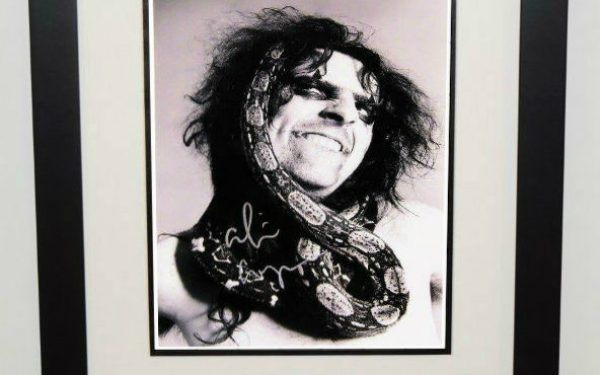 #2-Alice Cooper Signed 11×14 Photograph