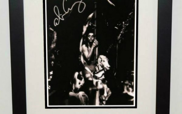 #3-Alice Cooper Signed 13×19 Photograph