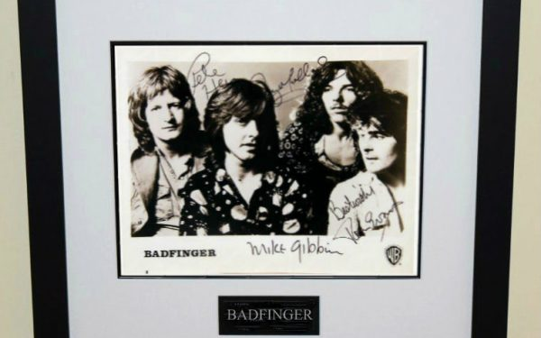 Badfinger Signed 8×10 Photograph