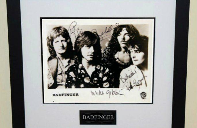 Badfinger Signed 8×10 Photograph