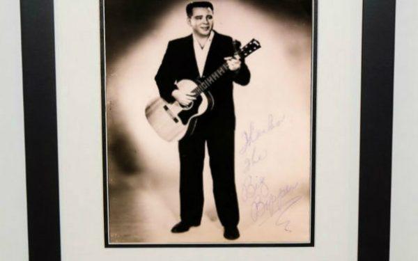 Big Bopper Signed 8×10 Photograph