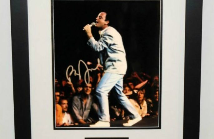 #3-Billy Joel Signed 8×10 Photograph